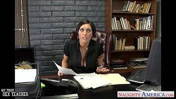 humungous-chested brown-haired instructor dylan ryder ravaging