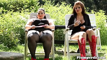 obese duo predominant fellow outdoors