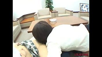 japanese office gals deep-throating boulder-possessor-stuffers taunting love button.