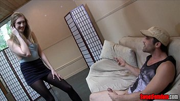 laci starlet woman dominance fellow-meat and ball torment.