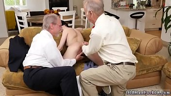 senior duo lure youthful frannkie goes down the.