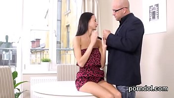 spunky school damsel gets taunted and boinked by.