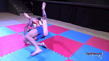 real raunchy mingled grappling by fight.