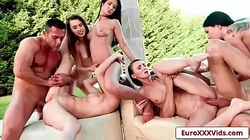 russian bang-out soiree with erika bellucci and angie.