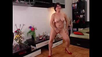sizzling cougar unwraps on cam -.