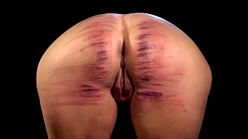 woman backside aggressively lashed