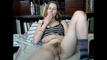 monstrous-boobed beauty fucktoys her fur covered poon on.