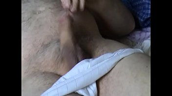 jacking in milky underpants