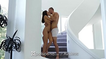 enthusiasm-hd staircase temptation at its finest with lana rhoades
