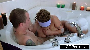 crazy dude joins his friend039_s good-sized-boobed latina mummy.