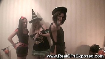 halloween lesbo soiree gone horny
