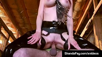 canadian cowgirl shanda fay rails her pony until.