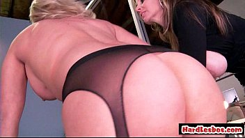 impressive meaty melon lesbos tonguing and frolicking each.