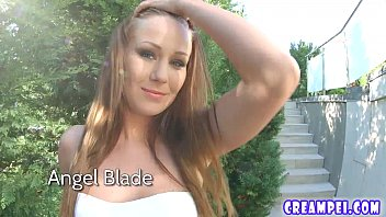cootchie inner cum-shot joy for magnificent honey angel blade